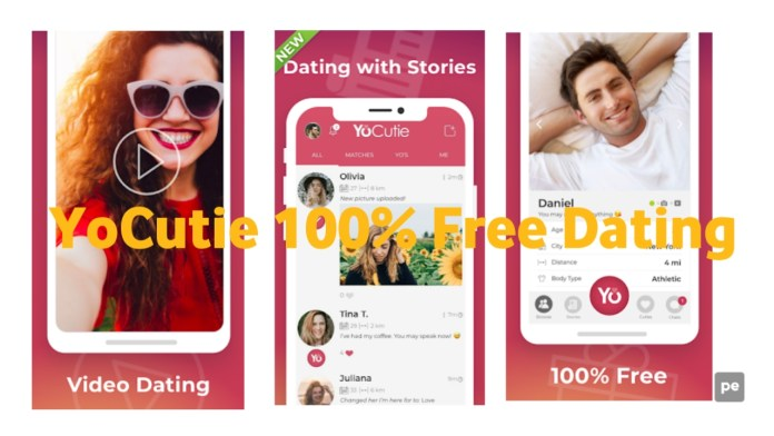 YoCutie 100% Free Dating App