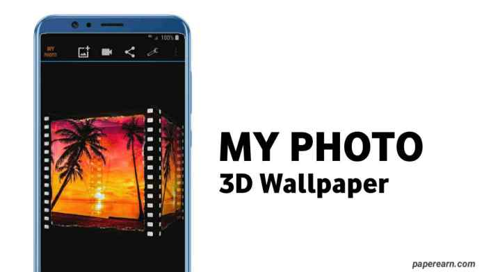 My photo 3D live wallpaper