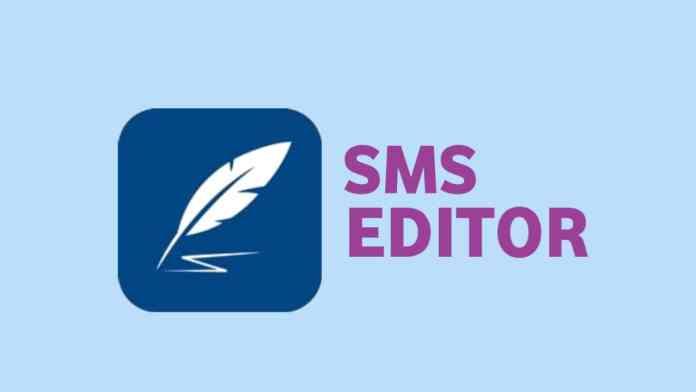 SMS Editor App.