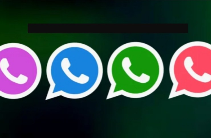 WhatsApp multiple colors change