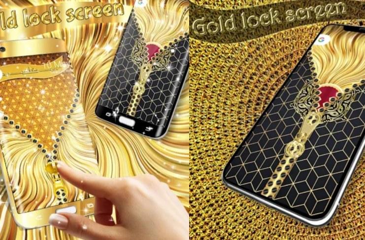 Gold screen Lock
