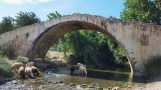 Antico Ponte veneto presso il Monastero di Preveli