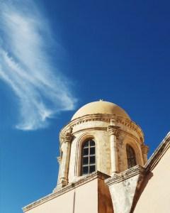 Dettaglio della Chiesa di Agia Triada