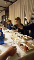 Cena al Ristorante La Pergola di Alghero