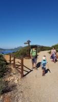 Camminando verso Punta Giglio