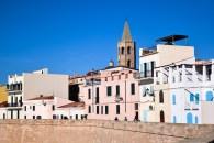 La vista della città vecchia dai Bastioni