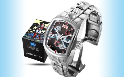 Harley Quinn gets her own Invicta watch designed by Amanda Conner!