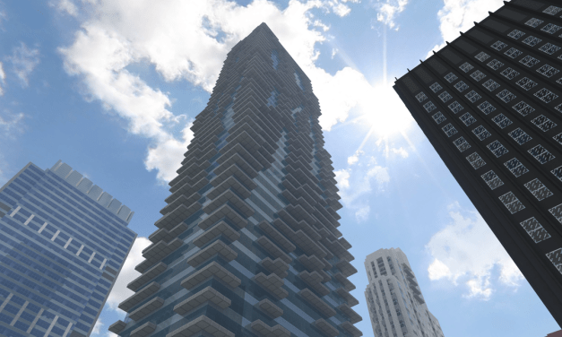Amazing Minecraft Model of Chicago