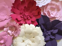 Large Paper Flower Wall Decor | PaperFlora