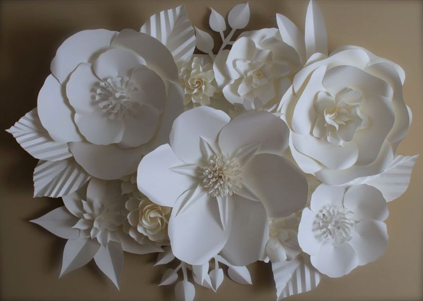 flower press paper