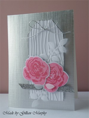 AN pink roses tag on silver 2