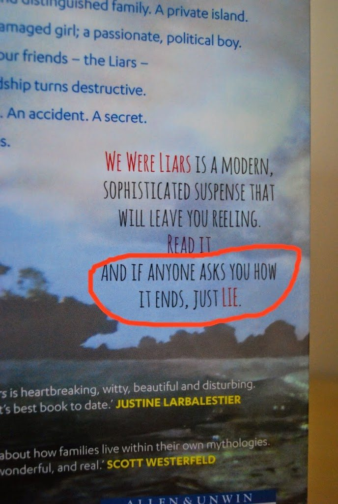 Why You Should Read WE WERE LIARS