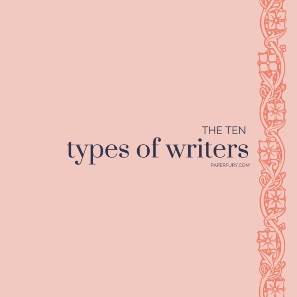 types of writers