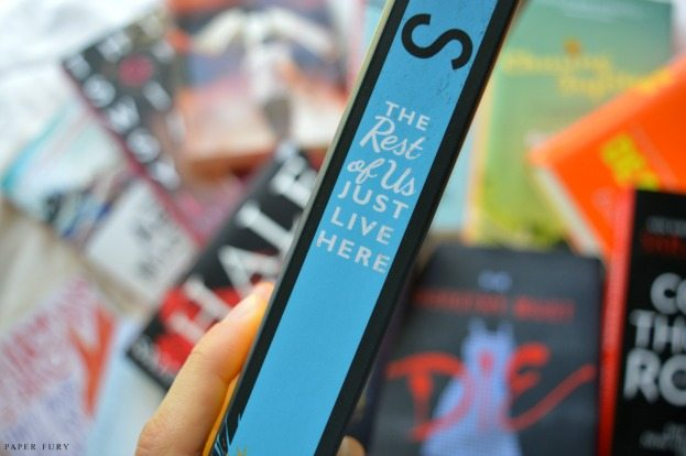 The Rest Of Us Just Live Here by Patrick Ness // ABSOLUTELY