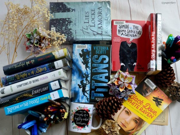 book haul april (1)