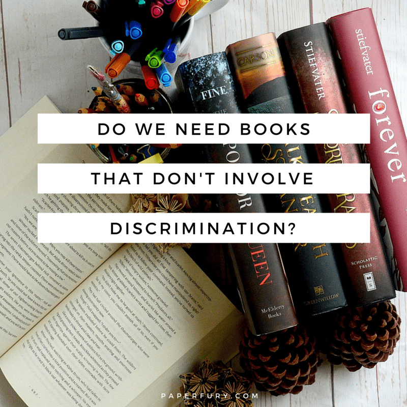 discrimination in books