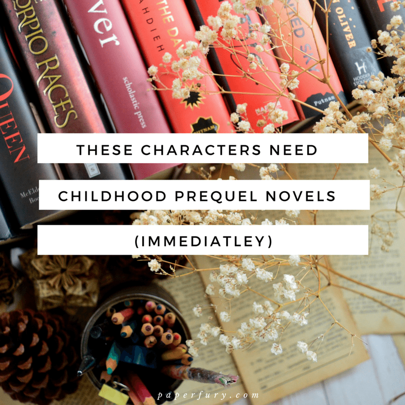 prequel novels wishlist