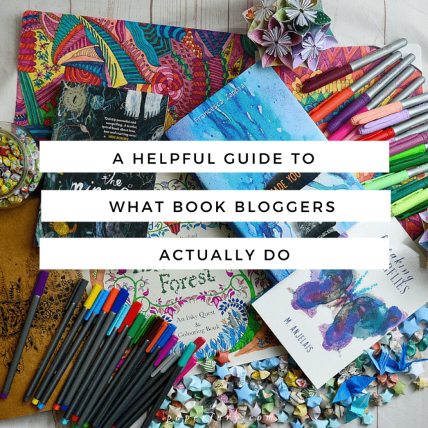 what book bloggers actually do
