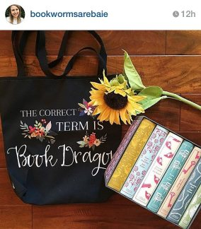 book dragon - tote promo