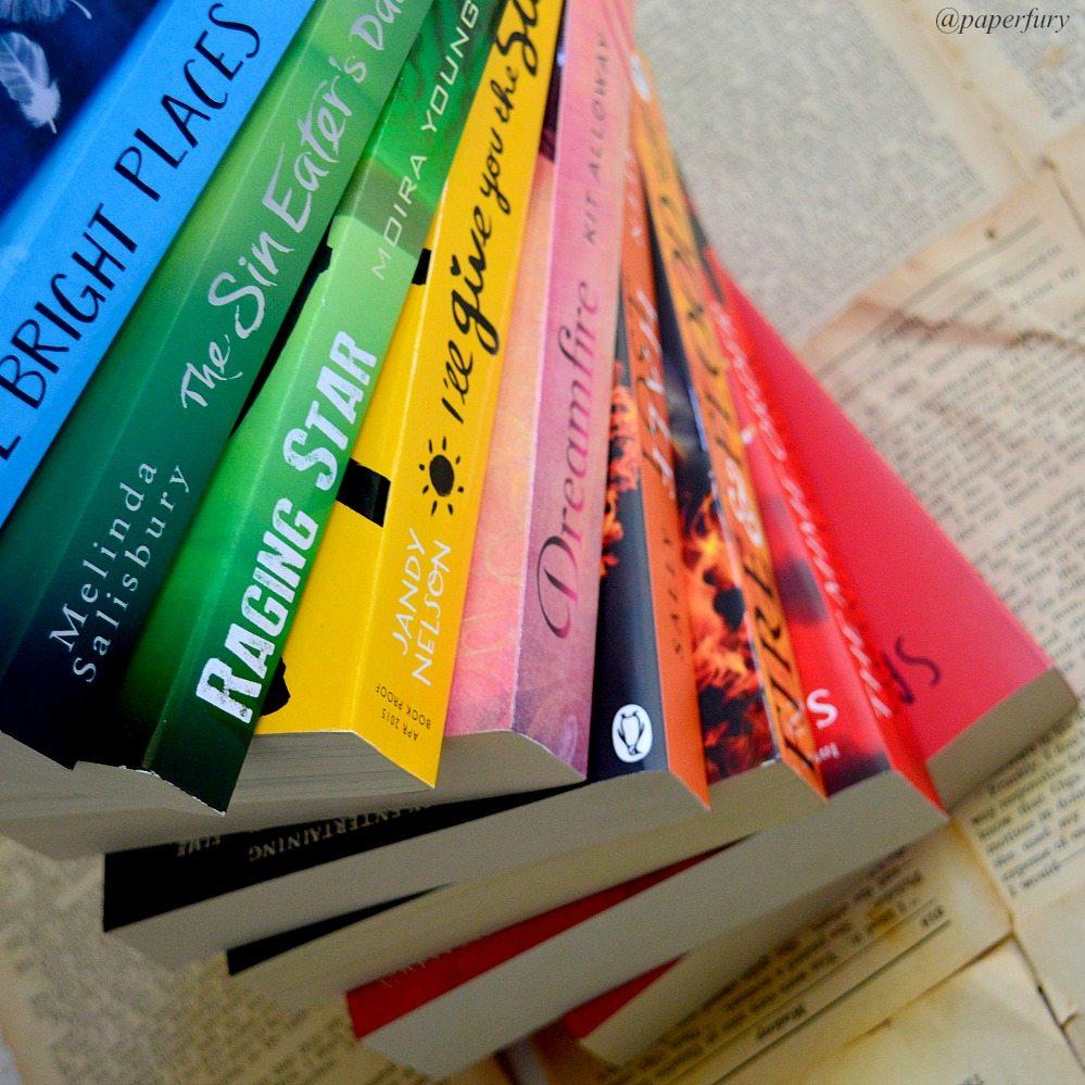 bookish rainbow twirl