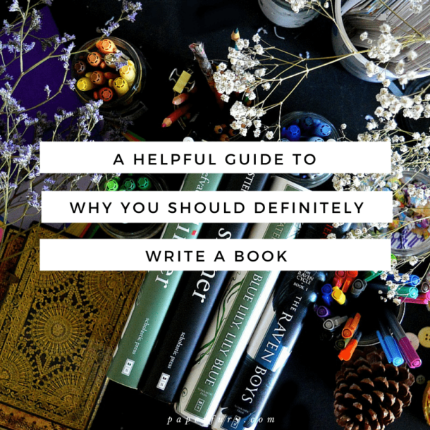 why you should write a book