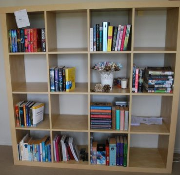 bookshelf jan 2014