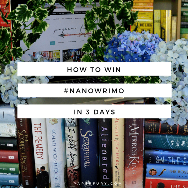 how-to-win-nanowrimo-in-3-days