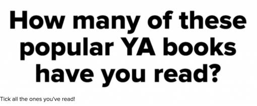 10 Popular YA Books I've Successfully Failed To Read (Wow) +