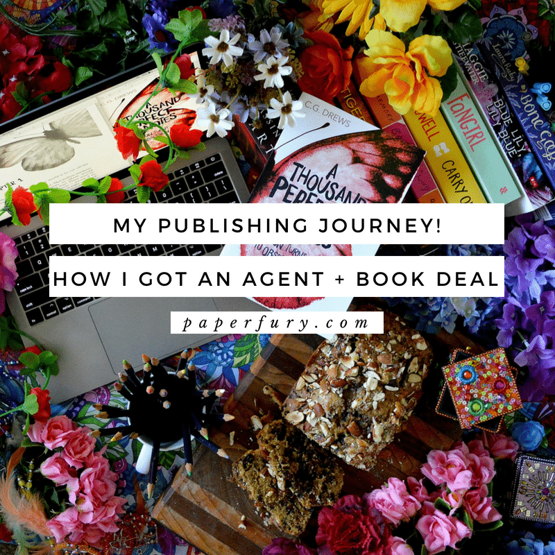 my publishing journey  how i got an agent and a book deal