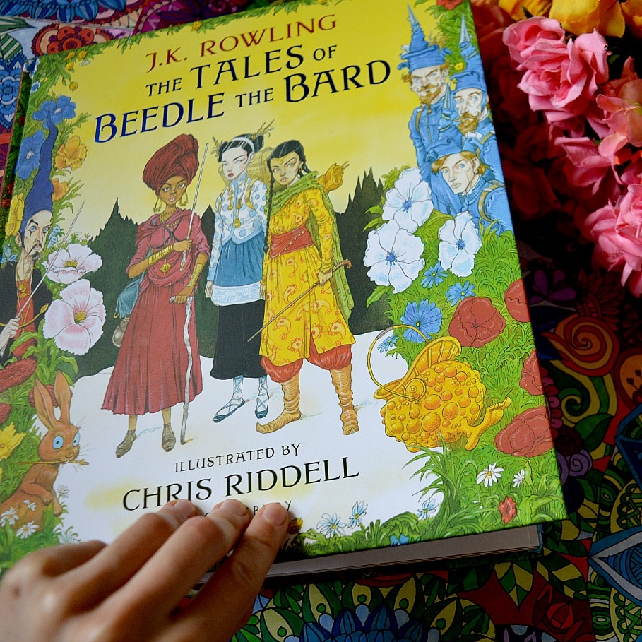 The Tales Of Beedle The Bard (Illustrated Edition!) by JK Rowling +
