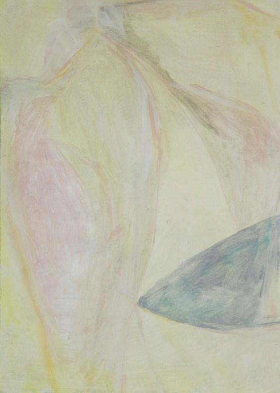 Untitled (2016), encaustic on paper