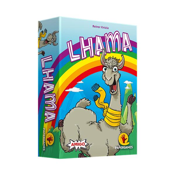 caixa do jogo lhama