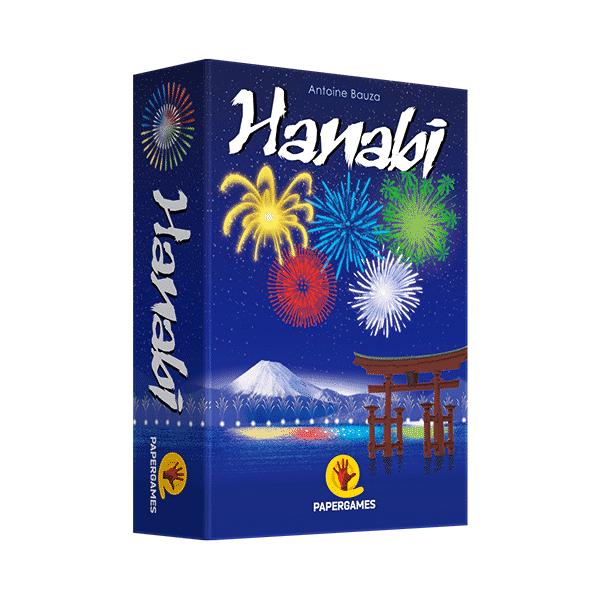 caixa do jogo hanabi