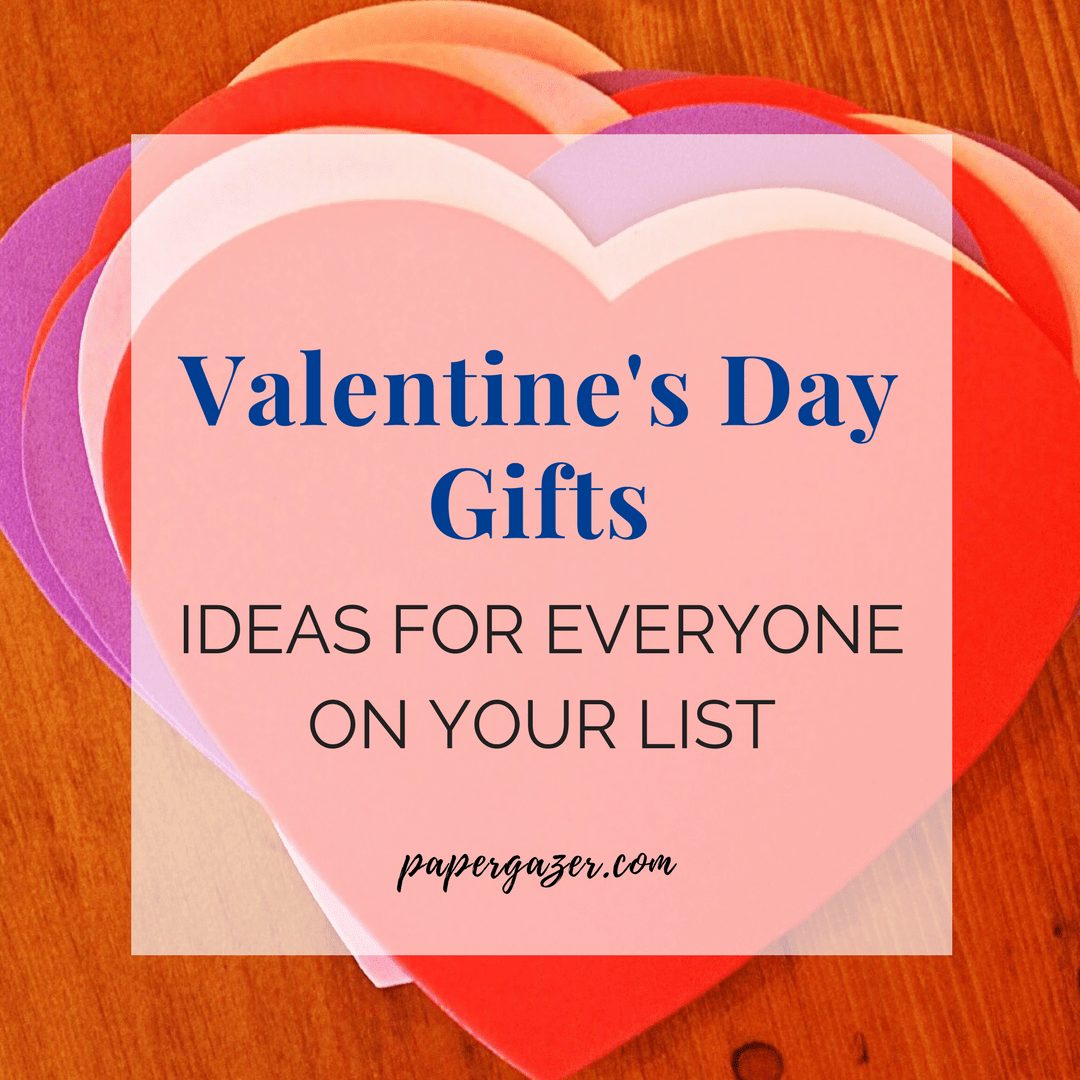 Pick out something special for the one you love this Valentine's Day. Don't know what to get your guy or galentine? Check out this great gift list for men and women. #giftlist #ValentinesDay