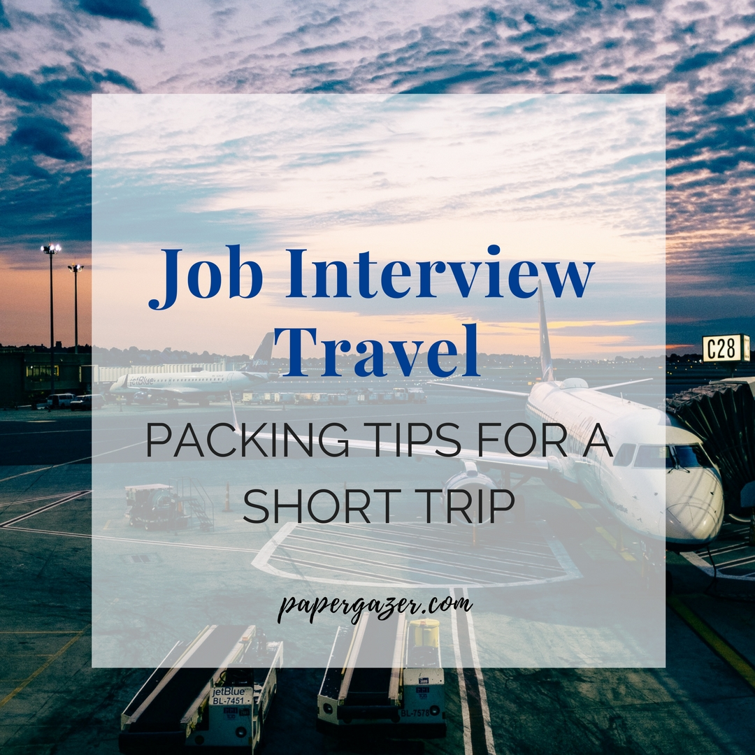 Landed an interview? Is your company flying you somewhere for just a day? Here are some great tips for professional travel. Good for the working woman and the business man!