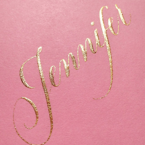 Pearl Ex Super Bronze Calligraphy by Joi Hunt