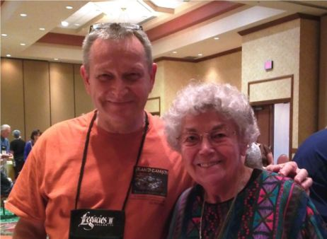 HCG member Wolf Thun with Sheila Waters