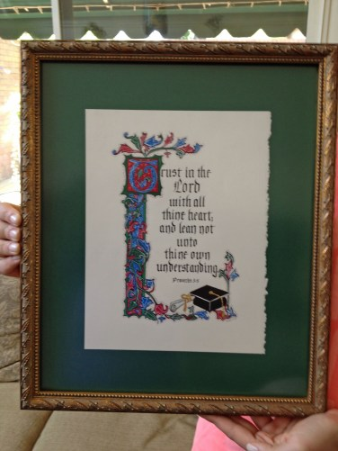 Calligraphy by Margaret Naylor