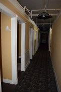 This is the main hallway from the front of the building to the back.
