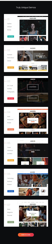 Paperio - Responsive and Multipurpose WordPress Blog Theme - 4