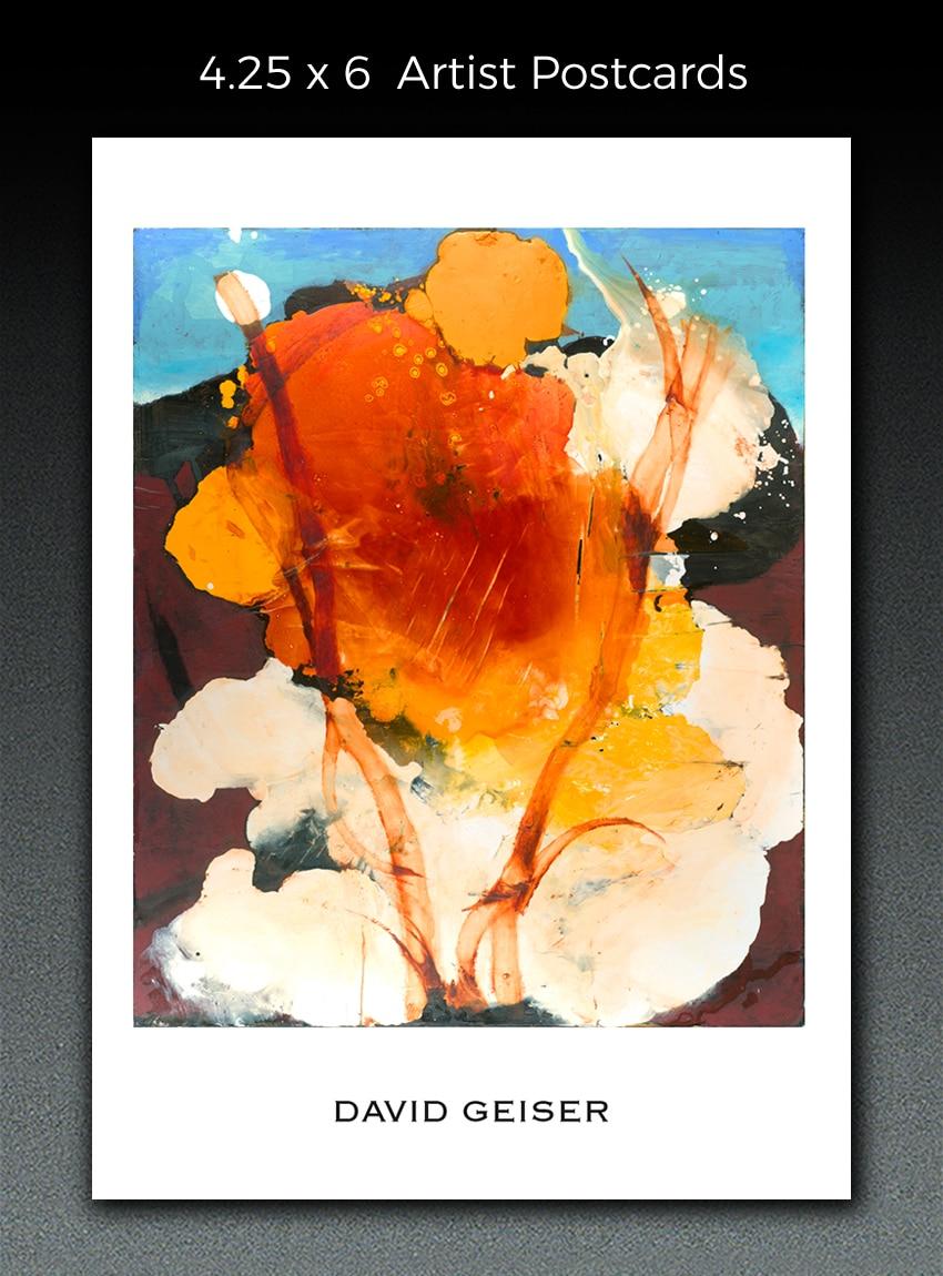 artist postcard