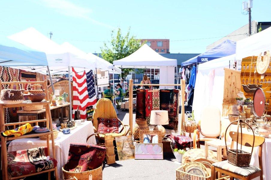 portland flea market