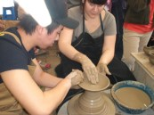 Pottery making South Korea