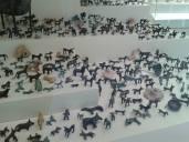 Animal figurines for Zeus, museum in Olympia, Greece