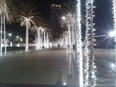 Glittering road