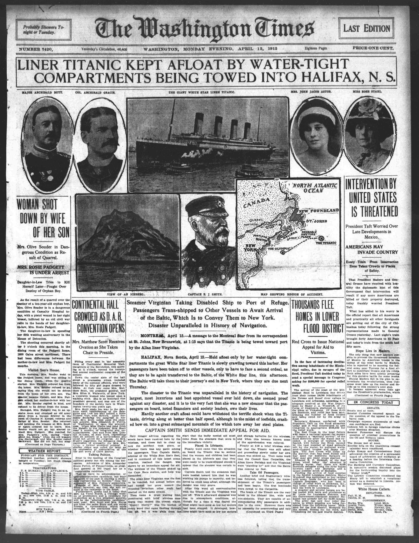 Images About Titanic Newspaper Articles On