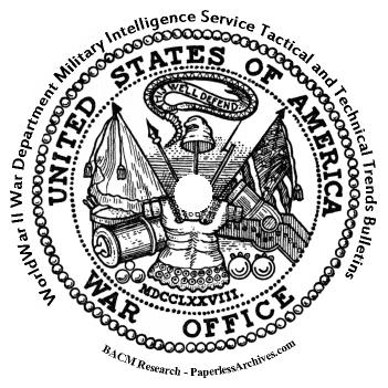 World War II: War Department Military Intelligence Service