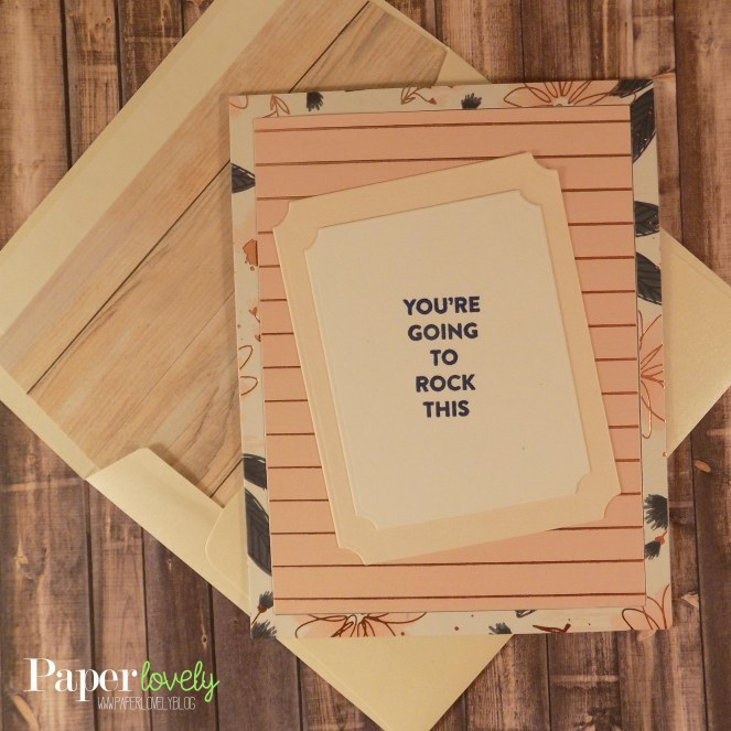 6 card and envelope