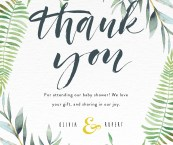 Thank You Notes Baby Shower