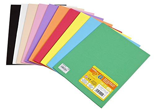 goma eva de colores surtidos